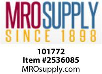 MRO 101772 3/8 3000# 105 STEEL HALF COUPLING (Package of 4)