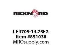 REXNORD LF4705-14.75F2 LF4705-14.75 F2 T10P N2