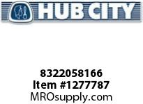 HubCity 8322058166 CUP BEARING HM926710 OR EQ