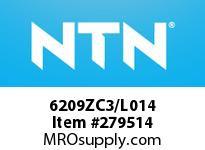 NTN 6209ZC3/L014 MEDIUM SIZE BALL BRG(STANDARD)