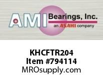 AMI KHCFTR204 20MM NARR ECCENTRIC COLLAR 3-BOLT F BALL BEARING