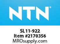 NTN SL11-922 Cylindrical Roller Brg D<=200