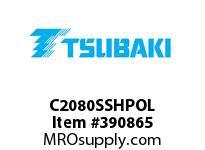 US Tsubaki C2080SSHPOL C2080SS HOLLOWPIN OFFSET