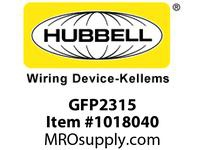 HBL-WDK GFP2315 PORT GFCI 30A 240V AUTO 6
