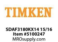 TIMKEN SDAF3180KX14 15/16 SRB Pillow Block Housing Only