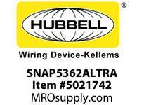 HBL_WDK SNAP5362ALTRA S-CONNECT DUP 20A/125V TR AL