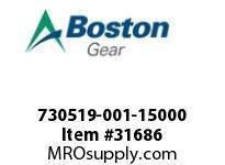 BOSTON 77953 730519-001-15000 ROTOR 3F 1.500 L.H.
