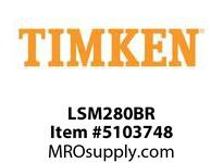 TIMKEN LSM280BR Split CRB Housed Unit Component