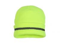 Pyramex RH110 Knit Cap with Reflective Strip-Yellow