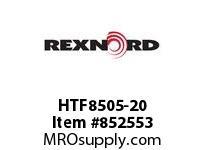 REXNORD HTF8505-20 HTF8505-20 HTF8505 20 INCH WIDE RUBBERTOP MATT