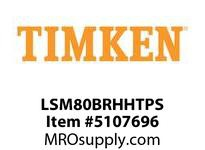 TIMKEN LSM80BRHHTPS Split CRB Housed Unit Assembly