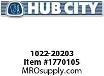HubCity 1022-20203 KFB1-11/16LT Spherical Flange Block