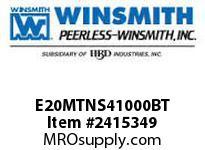 WINSMITH E20MTNS41000BT E20MTNS 7.5 L 56C WORM GEAR REDUCER