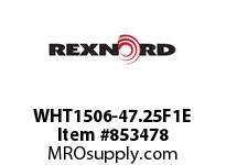 REXNORD WHT1506-47.25F1E WHT1506-47.25 F1 T3P N1 WHT1506 47.25 INCH WIDE MATTOP CHAI