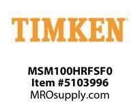 TIMKEN MSM100HRFSF0 Split CRB Housed Unit Component