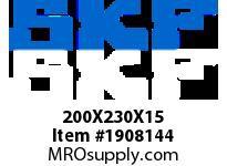 SKFSEAL 200X230X15 CRSH13 R SMALL BORE SEALS