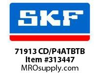 SKF-Bearing 71913 CD/P4ATBTB