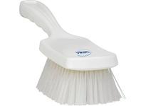 REMCO 41885 Vikan Resin Brush Resin Set Short Churn- Stiff- White