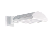 RAB WPLED4T78NW/PC2 LPACK WALLPACK 78W TYPE IV NEUTRAL LED + 277V PC WHITE