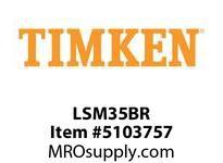 TIMKEN LSM35BR Split CRB Housed Unit Component