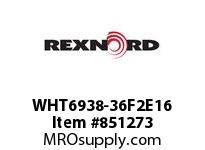 REXNORD WHT6938-36F2E16 WHT6938-36 F2 T16P N3 WHT6938 36 INCH WIDE MATTOP CHAIN W