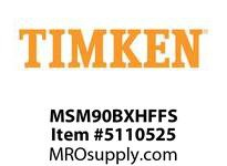 TIMKEN MSM90BXHFFS Split CRB Housed Unit Assembly