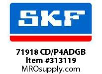 SKF-Bearing 71918 CD/P4ADGB