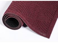 Crown S1 R034BU 261 - Super-Soaker Diamond Standard Color Rubber Edging 34^ x 45^ (3 x 4) Burgundy
