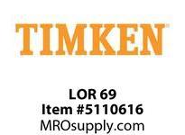 TIMKEN LOR 69 SRB Pillow Block Component