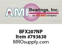 AMI BFX207NP 35MM NARROW SET SCREW NICKEL 2-BOLT BALL BEARING