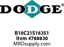 DODGE B10C21S16351 BB1083 210-CC 163.51 2-3/8 S SHFT