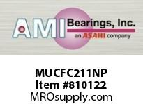 AMI MUCFC211NP 55MM STAINLESS SET SCREW NICKEL PIL SINGLE ROW BALL BEARING