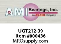 AMI UGT212-39 2-7/16 WIDE ECCENTRIC COLLAR TAKE-U BALL BEARING