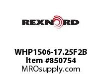 REXNORD WHP1506-17.25F2B WHP1506-17.25 F2 T10PN.75 WHP1506 17.25 INCH WIDE MATTOP CHAI