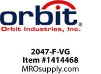 Orbit 2047-F-VG 4-TIER COMP. FLUOR. FROSTED PAGODA LIGHT -V. GREEN