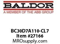 BALDOR BC30D7A110-CL7 230/460 VAC 110A DC/SCR CONT N1 LINE REG