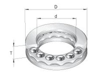 INA 2909 Thrust ball bearing
