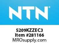 NTN 5209KZZEC3 DOUBLE ROW