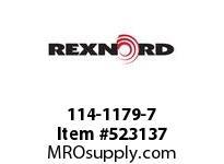 REXNORD 114-1179-7 KU5996-9T 1-1/2^ SQ UHMWP 141658
