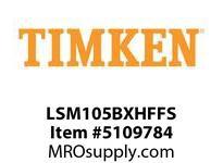 TIMKEN LSM105BXHFFS Split CRB Housed Unit Assembly