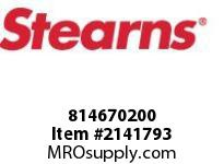 STEARNS 814670200 REL ROD-CI SUP PL-W/ FIN 8037204