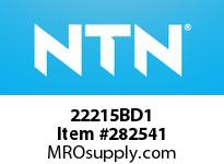 NTN 22215BD1 SPHERICAL ROLLER BRG