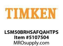 TIMKEN LSM50BRHSAFQAHTPS Split CRB Housed Unit Assembly