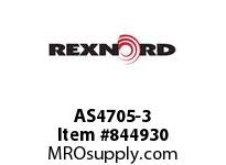 REXNORD AS4705-3 AS4705-3 AS4705 3 INCH WIDE MATTOP CHAIN WIT