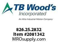 TBWOODS 826.25.2832 S-BEAM 25 8MM--10MM