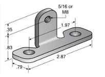 System Plast VG-687LDB-M8 VG-687LDB-M8 RAIL BRACKETS