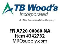 TBWOODS FR-A720-00080-NA CT INVERTER 2HP(ND)1HP(HD)240V