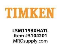TIMKEN LSM115BXHATL Split CRB Housed Unit Assembly