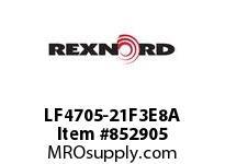 REXNORD LF4705-21F3E8A LF4705-21 F3 T8P N2 LF4705-21^ MATTOP CHAIN WITH A F3^