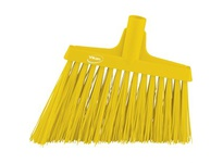 REMCO 29146 Vikan Upright Broom Angle Cut Broom- Yellow